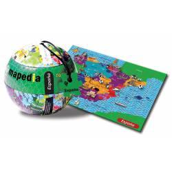 Puzzle de España, 100 piezas.