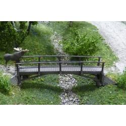 Puente de madera.