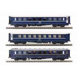 CIWL-TEN coaches set, type F. 1974.