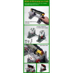 Soporte rotatorio para locomotoras.