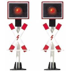 2 crossing signals. BUSCH 5911
