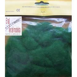 Hierba de modelismo verde vivo. ANESTE 321