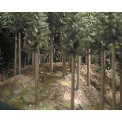 Material para crear suelo boscoso.