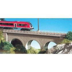 Puente recto para línea férrea. KIBRI 37660