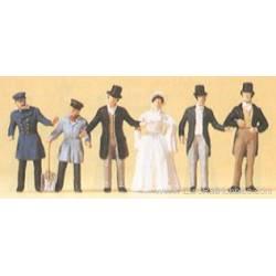 Personajes de época (1850). PREISER 12046