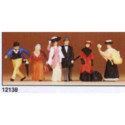Personajes de época (1900). PREISER 12138