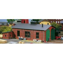 Two-road engine shed. AUHAGEN 11403