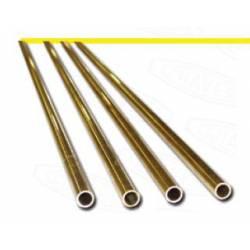 Tubo de latón 2 x 0,3 mm. HIRSCH 822030