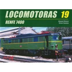 Locomotoras 19 - Renfe 7400