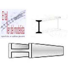 """I"" beams 2,5 mm. EVERGREEN 273"