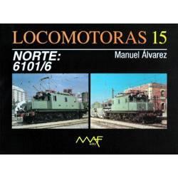 Locomotoras 15 - NORTE: 6101/6
