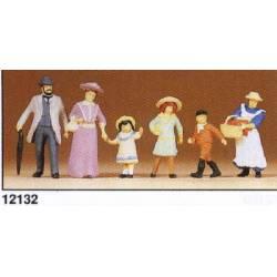 Familie rond 1900.