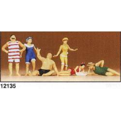 Bañistas de época (1900). PREISER 12135