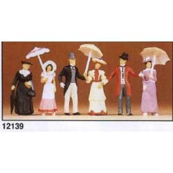 Transeúntes de época (1900). PREISER 12139