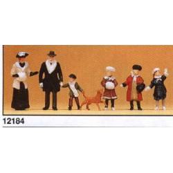 Familia de época (1900). PREISER 12184