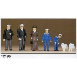 Wilhelm II era figures. PREISER 12196