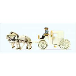 Coach with horses. PREISER 30495