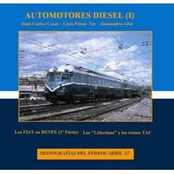 Automotores diesel (I): Los FIAT en Renfe, 1ª parte