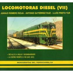 Locomotoras Diesel (VII), Las Alco serie 2100 de Renfe