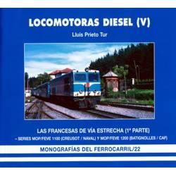 Locomotoras Diesel (V). Las Francesas de vía estrecha (1)