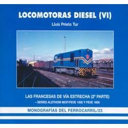 Locomotoras Diesel (VI). Las Francesas de vía estrecha (2)