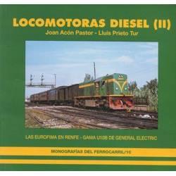 Locomotoras Diesel (II). Las Eurofima en Renfe, Gama U10B de GE