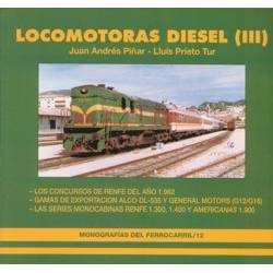 Locomotoras Diesel (III). Series 313, 314 y 319 americanas RENFE