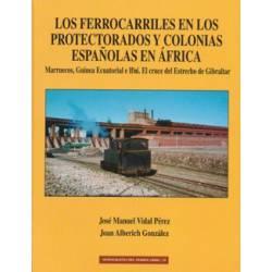 Los FFCC en protectorados y colonias españolas en África