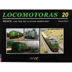 Locomotoras 20 - Las 7800 de la ayuda americana