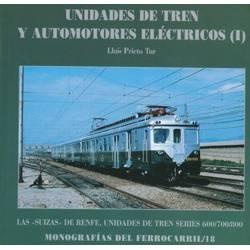 Unidades de tren y automotores eléctricos (I).