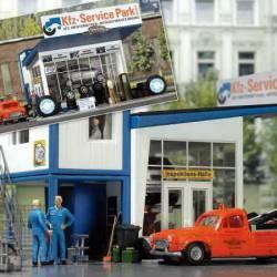 Taller de reparación de coches.