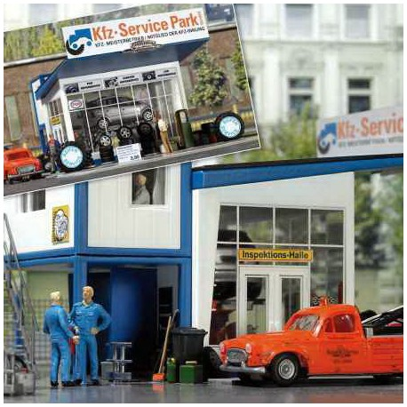 Taller de reparación de coches. BUSCH 1062