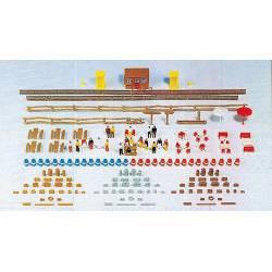 Completo set de accesorios y figuras. KIBRI 37490