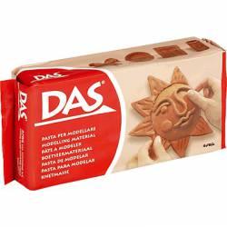 Pasta para modelar marrón. 500 gr. DAS 3871