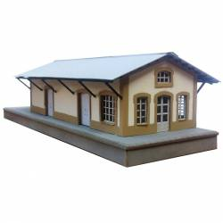 MZA shed and office. PARVUS N0205