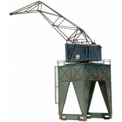 Over-track crane.