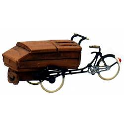 Delivery tricycle.