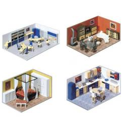Building interior decoration.