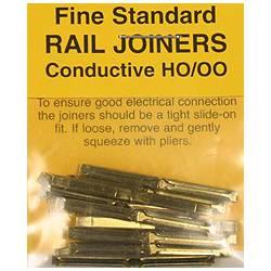 Rail Joiners, nickel silver.