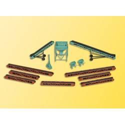 Assorted coaling accessories. KIBRI 38606
