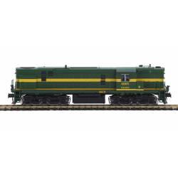 Locomotora diésel RENFE ALCO 1340. Sonido.