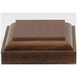 Peana cuadrada, 4 cm. P340416