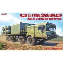 """Proyector de misiles ruso """"Bal-E""""."""