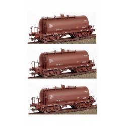 3-set tank wagons, RENFE.