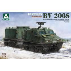 Bandvagn 206S con interiores. Calcas españolas.