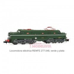 Electric locomotive RENFE 277.048.