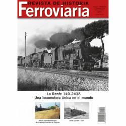 Revista de Historia Ferroviaria Nº 22.