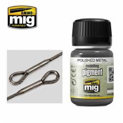 Polished metal, 35 ml.