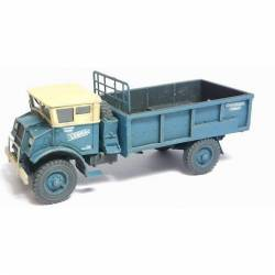Chevrolet 3T, flatbed truck. Blue.