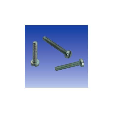 Tornillos con rosca M2 de 20 mm (x100)